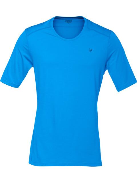 Norrøna M's Wool T-Shirt Signal Blue